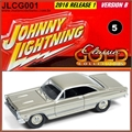 1967 - Ford Fairlane 500 XL Beje - Johnny Lightning - 1/64