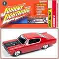 1970 - AMC Rebel Machine Vermelho - Johnny Lightning - 1/64