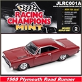 1968 - Plymouth ROAD RUNNER Vinho - Johnny Lightning - 1/64
