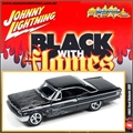 1963 - Ford GALAXIE 500 Chama Preta - Johnny Lightning Street Freaks - 1/64