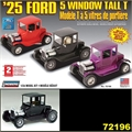 1925 - FORD 5 WINDOW TALL T - Lindberg - 1/24
