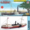 Barco a Vapor Fultons CLERMONT - Lindberg - 1/96
