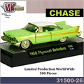 1958 - Plymouth Belvedere CHASE - M2M - 1/64