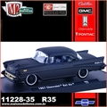 1957 - Chevrolet BEL AIR R35 Black - M2 Auto-Drivers - 1/64