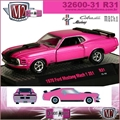 1970 - Ford MUSTANG Mach 1 351 R31 Pink - M2 Machines - 1/64
