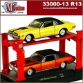 1968 - Mercury Cougar (2X) R13 - AUTO-LIFT M2 Machines - 1/64
