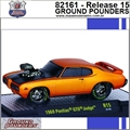 1969 - Pontiac GTO Judge R15 Laranja - M2 Machines - 1/64