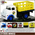 1957 - DODGE 700 COE MOON PIE Branco - M2M - 1/64