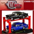 1955 - Chevrolet BEL AIR (2X) R12 - AUTO-LIFT M2M - 1/64