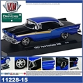 1957 - Ford FAIRLANE 500 Azul - M2M - 1/64