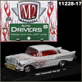 1957 - Chevrolet BEL AIR Chamas - M2M - 1/64