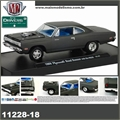 1969 - Plymouth ROAD RUNNER 440 Cinza - M2M - 1/64