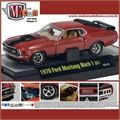 1970 - Ford MUSTANG Mach 1 351 Vermelho - M2 Detroit-Muscle - 1/64