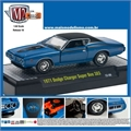 1971 - Dodge CHARGER Super Bee 383 Azul - M2 Machines - 1/64