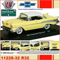 1957 - Chevrolet BEL AIR R32 Creme - M2M - 1/64