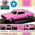 1966 - Dodge CHARGER 383 R32 Rosa - M2M - 1/64