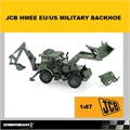 JCB HMEE EU/US MILITARY BACKHOE - Motorart - 1/87