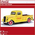 1937 - FORD PICKUP COCA-COLA - Motorcity - 1/24
