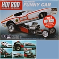 1970 - HOT ROD Ford Mustang Funny Car - MPC - 1/25