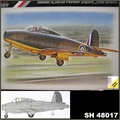 GLOSTER E.28/39 PIONEER FIRST BRITISH JET - MPM - 1/48