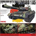 German Main Battle Tank LEOPARD 1 A5 - Meng - 1/35