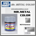 Tinta Gunze Mr Metal Color MC218 ALUMÍNIO Metálico - 10ml
