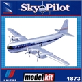 SP - Boeing Stratocruiser 377 UNITED (Snap) - DTC Kit New Ray