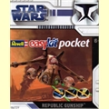 STAR WARS - REPUBLIC GUNSHIP - Revell easy kit pocket