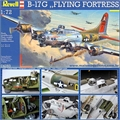 Boeing B-17G FLYING FORTRESS - Revell - 1/72