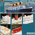 QUEEN MARY  Luxury Liner - Revell - 1/570