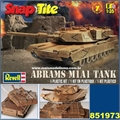 ABRAMS M1A1 TANK - Snap Tite Revell - 1/35