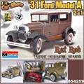 1931 - FORD MODEL A RAT ROD 2n1 - Monogram - 1/25