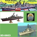USS KING Destroyer - Renwal-Revell - 1/500