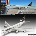 Boeing 747-400 ED FORCE ONE Iron Maiden - Revell - 1/144