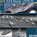 USS NIMITZ CVN-68 (early) - Revell - 1/720