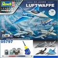 60 anos Luftwaffe 1956-2016 - Gift-Set 4 kits Revell - 1/72
