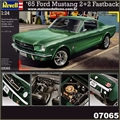 1965 - Ford MUSTANG Fastback 2 2 - Revell - 1/24