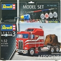 Caminhão Kenworth AERODYNE - Model-Set Revell - 1/32