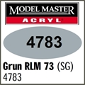 Tinta Model Master 4783 Acryl VERDE RLM-73 Semi-Brilho - 14,7ml