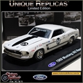 1969 - FORD MUSTANG 302 Racer 04 Branco - Unique - 1/38