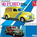 1940 - FORD SEDAN Delivery - AMT - 1/25