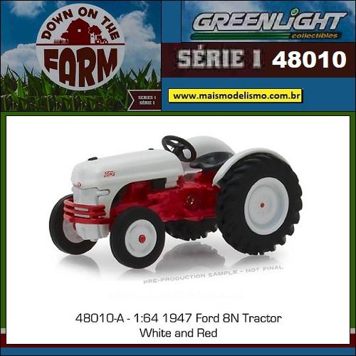 1947 - Trator Ford 8N Vermelho
