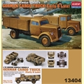 German Cargo Truck - SET 5 (Early e Late) - Academy - 1/72