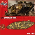 WWI MALE Tank - Airfix - 1/76