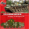 TYPE 97 MEDIUM TANK CHI HA - Airfix - 1/76
