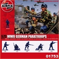 WWII GERMAN PARATROOPS - Airfix - 1/72
