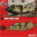 WWI FEMALE Tank - Airfix - 1/76