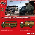 BEDFORD QLT AND BEDFORD QLD TRUCKS - Airfix - 1/76