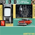 SLOT RACING KIT - 1957 Chevy Bel Air - AMT - 1/25