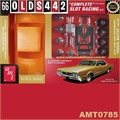 SLOT RACING KIT - 1966 Oldsmobile 442 - AMT - 1/25